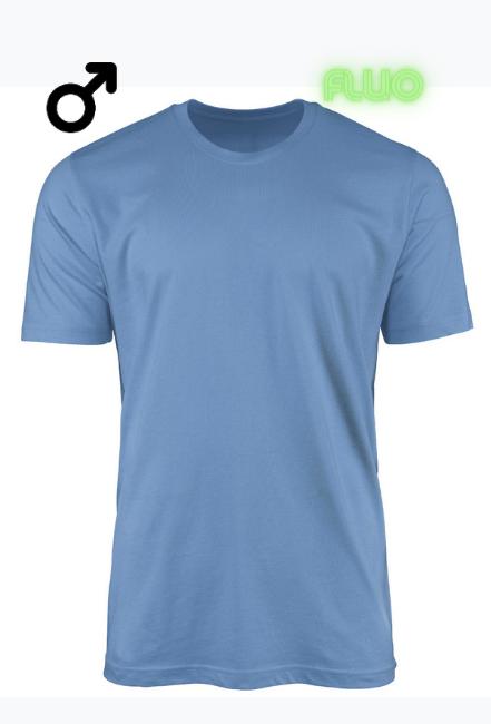 Koszulka ze świecącym nadrukiem fluo